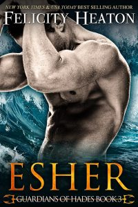 book cover for Esher (Guardians of Hades #3) by Felicity Heaton