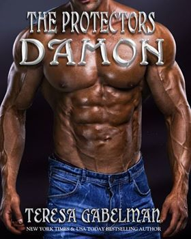 book cover for The Protectors 1 - Damon by Teresa Gabelman
