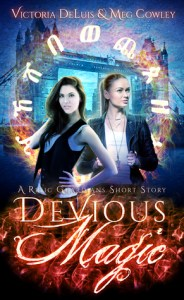 Devious Magic (Relic Guardians #0.5) by Victoria DeLuis and Meg Cowley – Review