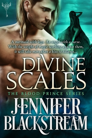 book cover for Blood Prince 4 - Divine Scales by Jennifer Blackstream