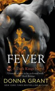 book cover for Fever (Dark Kings #16) by Donna Grant