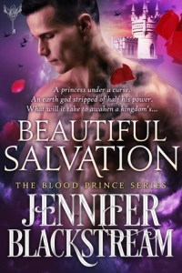book cover for Blood Prince book 5 - Beautiful Salvation by Jennifer Blackstream