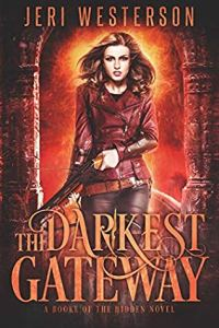 book cover for Booke of the Hidden book 4 - The Darkest Gateway by Jeri Westerson