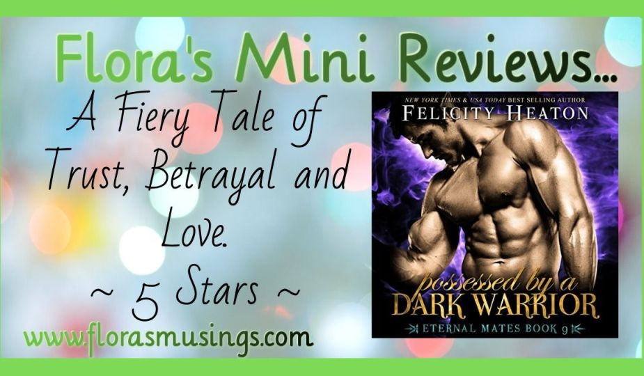 Featured Image - Eternal Mates 9 - Possessed by a Dark Warrior by Felicity Heaton. Narrated by Eric G. Dove