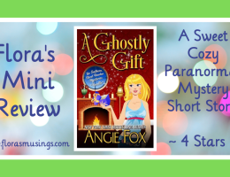 Featured Image - Southern Ghost Hunter Mysteries 1.5 - A Ghostly Gift by Angie Fox