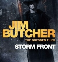 book cover for The Dresden Files 1 - Storm Front by Jim Butcher
