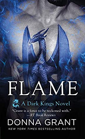 book cover for Dark Kings book 17 - Flame by Donna Grant