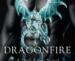 book cover for Dark Kings book 14 - Dragonfire by Donna Grant
