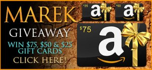 Giveaway graphic for Marek (Guardians of Hades #4) by Felisity Heaton