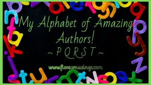 graphic for My Alphabet of Amazing Authors - PQRST