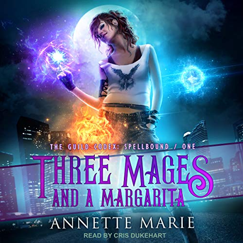 audiobook Three Mages ad a Margarite by Annette Marie narrator Cris Dukehart