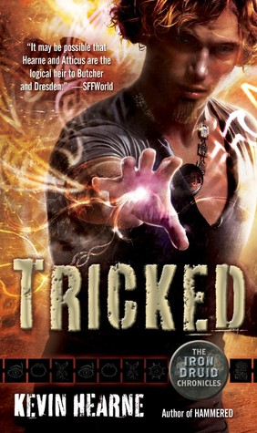 book cover for Tricked by Kevin Hearne. Narrated by Christopher Ragland