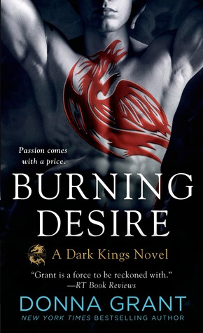 book cover for Dark Kings 3 - Burning Desire by Donna Grant
