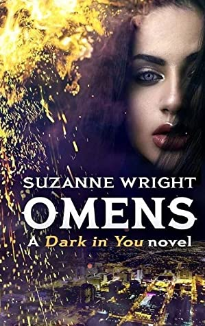 book cover for Dark in You book 6 - Omens by Suzanne Wright