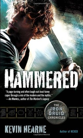 book cover for The Iron Druid Chronicles 3 - Hammered by Kevin Hearne
