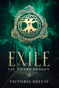 book cover for The Silure Dragon Novella - Exile by Victoria DeLuis
