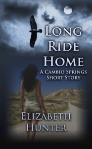 book cover for Cambio Springs 0.5 - Long Ride Home by Elizabeth Hunter