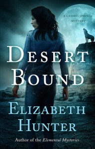 book cover for Cambio Springs 2 - Desert Bound by Elizabeth Hunter