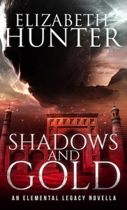 book cover for Elemental Legacy 0.25 - Shadows and Gold by Elizabeth Hunter
