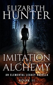 book cover for Elemental Legacy 0.5 - Imitation and Alchemy by Elizabeth Hunter