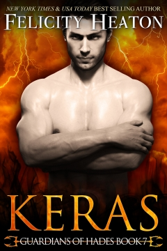 book cover for Guardians of Hades 7 - Keras by Felicity Heaton