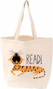 Read! Tiger Tote by Gibbs Smith - Foyles