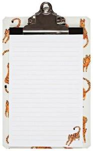 Tiny Tigers Mini Clipboard by Jen Collins - Foyles