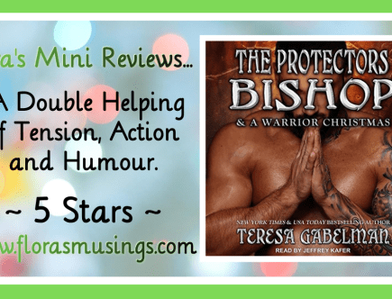 Featured Image - The Protectors 14-15 - Bishop and A Warrior Christmas by Teresa Gabelman - Narrated by Jeffrey Kafer