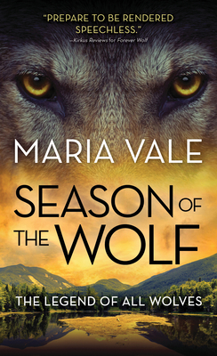 book cover for The Legend of All Wolves book 4 - Season of the Wolf by Maria Vale