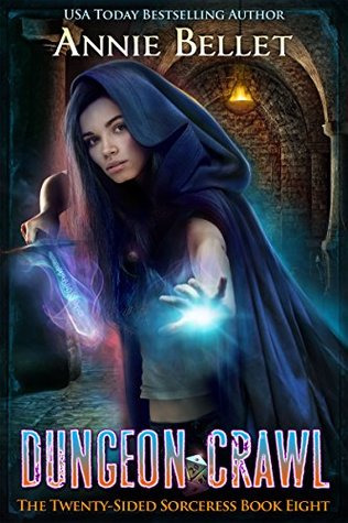 book cover for Twenty-Sided Sorceress 8 - Dungeon Crawl by Annie Bellet