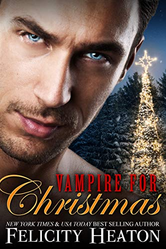 Book cover for Vampire For Christmas by Felicity Heaton