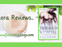 ARC Featured Image - Last True Vampire 6 - The Wicked Vampire by Kate Baxter