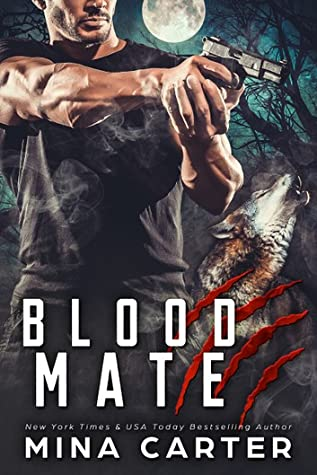 book cover for Project Rebellion 2 - Blood Mate by Mina Carter