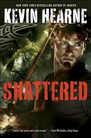 book cover for The Iron Druid Chronicles 7 - Shattered by Kevin Hearne