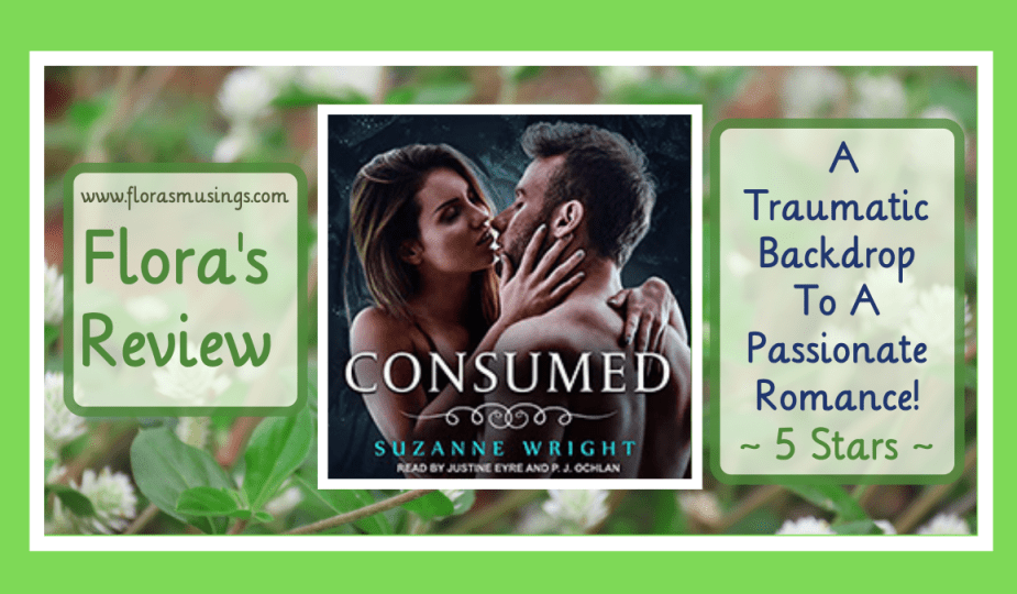 Featured Image - Deep In Your Veins 4 - Consumed by Suzanne Wright - Narrated by Justine Eyre and P.J Ochlan