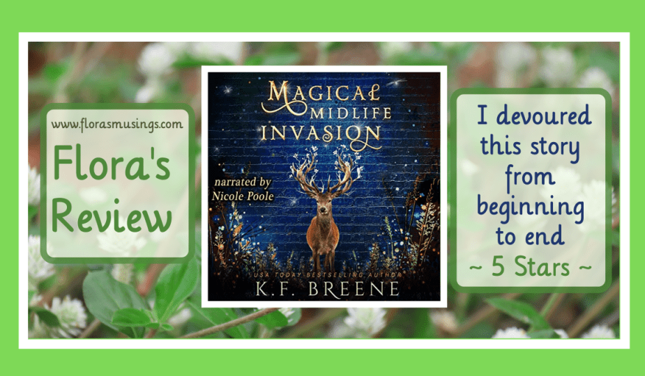 Featured Image - Leveling Up 3 - Magical Midlife Invasion by K. F. Breane - Narrated by Nicole Poole