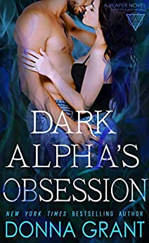 book cover for Reaper 11 - Dark Alpha's Obsession by Donna Grant