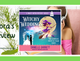 ALC Featured Image - Touch of Magic 0.5-3 - Witchy Weddings by Danielle Garrett - Read by Amanda Ronconi