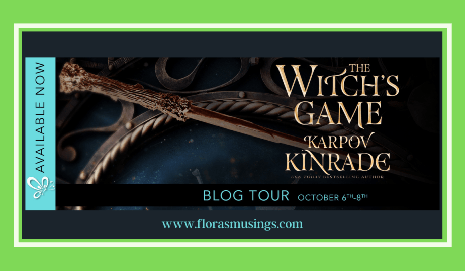 Featured Image - Blog Tour for The Witch's Game by Karpov Kinrade