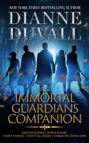 book cover for An Immortal Guardians Comapnion by Dianne Duvall
