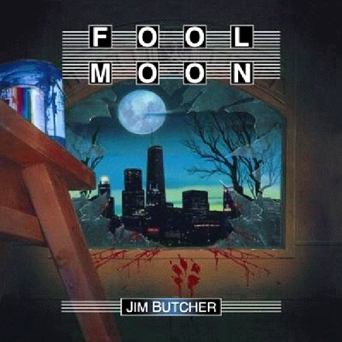 audiobook cover for The Dresden Files 2 - Fools Moon by Jim Butcher - Read by James Marsters