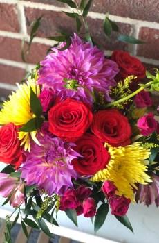 Standard seasonal flower arrangement with Kansas City flower delivery Florativity