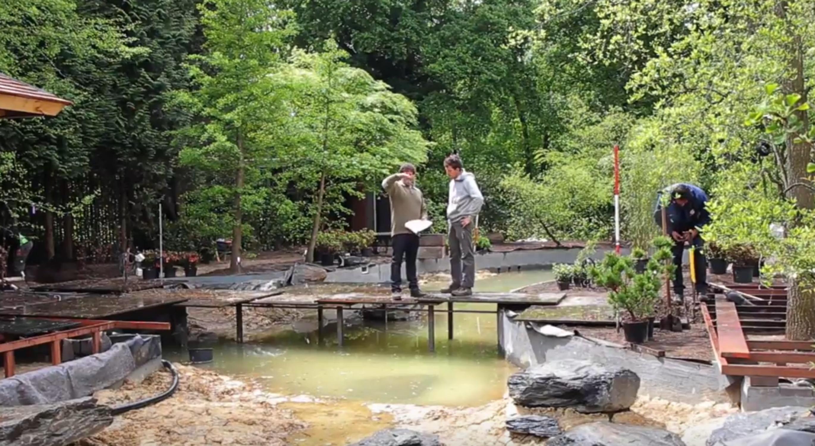 Japanese Water Garden by Van Mierlo Tuinen (NL)