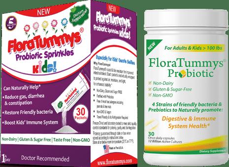 FREE Sample of FloraTummys Pro...