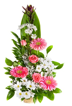 bouquet fleurs Maman casablanca maroc