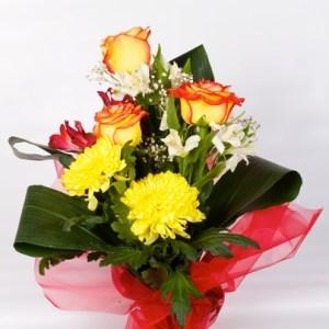 bouquet fleurs Soleil casablanca maroc