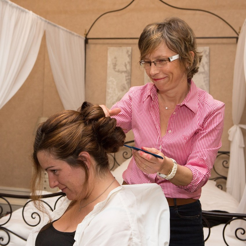 séance coiffure de marié Florence coiffure artigues