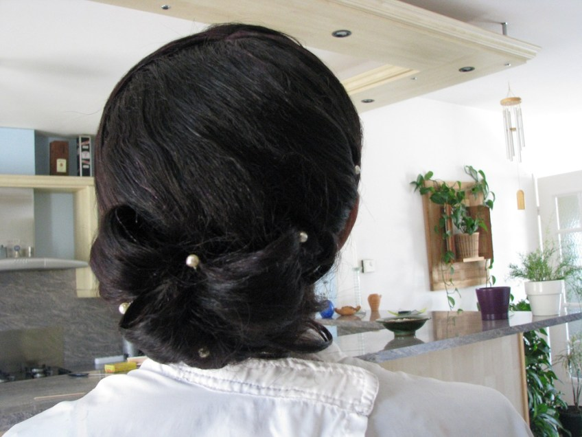 chignon bas tina Florence coiffure