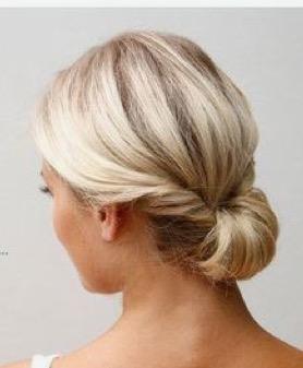 chignon bas florence coiffure à domicile
