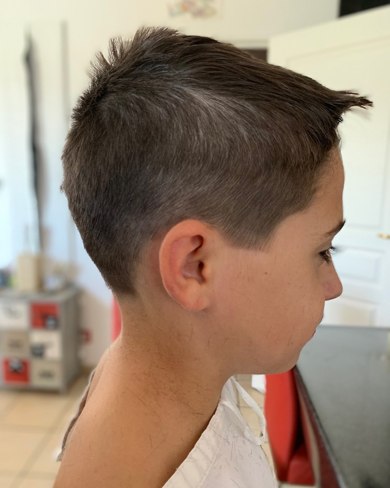 coiffure enfant a domicile, yvrac